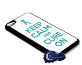 Keep Calm and Cure On, Ovarian Cancer Awareness - Case for iPod Touch
