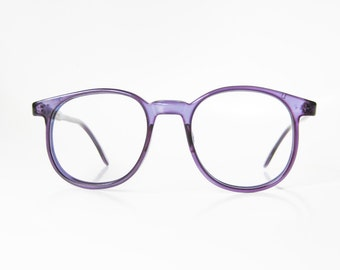 Lafont Round Eyeglass Frames : Jean Lafont Clear Eyeglasses Round 1960s Avant Garde Glasses