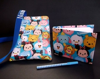 Disney Tsum Tsum autograph book bag with book, bag and pen and autograph book PERSONALIZED for FREE Adjustable strap