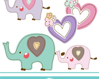 Elephant Baby Shower - COMMERCIAL USE OK