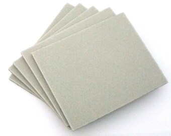 5 Pack Wet Or Dry 180 Grit Sanding Sponges 4.5x5.5 Inch