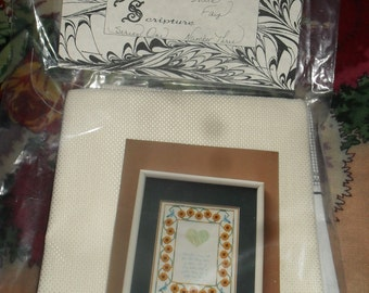 Cross Stitch Pattern / Chart -  Favorite Scripture - My Mother and I - Number Three. Series One