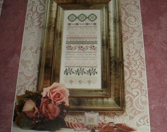 Cross Stitch Chart / Pattern Kit - Follow The Needle Sampler- Just Nan