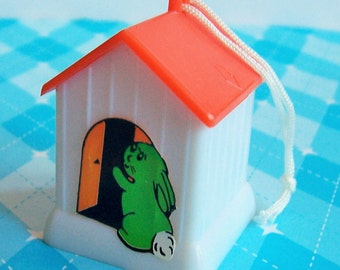 Pet House Pencil Sharpener- Cake Topper- Choose Roof Color