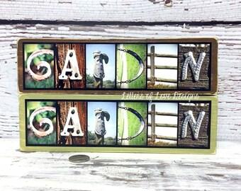 Garden Decor, Garden Art, Garden Sign, Gardener Gift for Gardeners, Gardening Gift Art Gardening Signs Photo Letter Art Alphabet Photography
