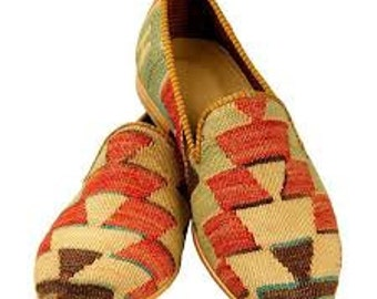 Mens Kilim Shoes
