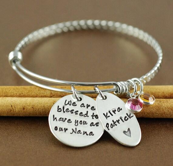 We are blessed bracelet