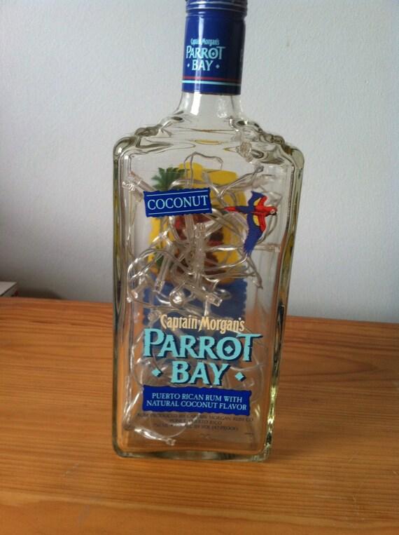 Coconut Captain Morgan S Parrot Bay Lighted Liquor Bottle