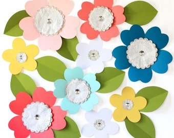 Wall Flowers - Custom Colors