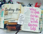 NEW! Seeking Him - a 22 day study through Psalm 119 (booklet)