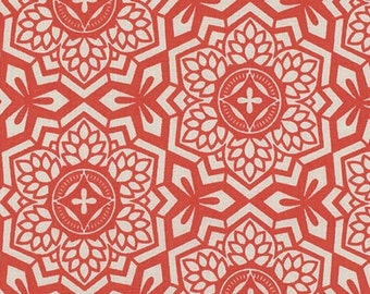 Rowan Fabrics Joel Dewberry PWJD087 Botanique - Mosaic Bloom - Sunset BTY