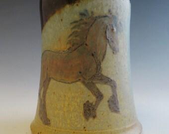 Cantering Friesian Horse Mug
