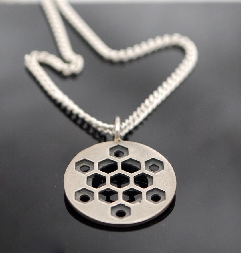 hexagons metatron cube pendant of david sacred