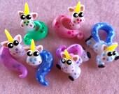 6 Baby Unicorns