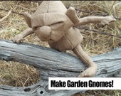 How to Make Garden Gnomes (PDF Tutorial) - Pattern and Instructions for Bean Bag Plush Dolls inspired by the Harry Potter Series
