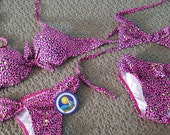MOTHER/DAUGHTER Bathing Suits, handmade by our family. One of a kind, bright bikinis, gift, kids swimwear, adult swimwear, trendy, Brazilian