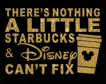 """9.2"""" There's Nothing Disney Can't Fix SVG JPEG instant digital download vinyl transfer DIY applique patch"""