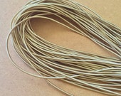 5Yards 2mm Elastic in Khaki..For Stationary..Hair Accessories, Jewelry, Stationary