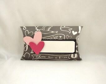 Valentine Pillow Box, Valentine Gift Box, Valentine Treat Box, Engagement Ring Box,  Small Valentine Candy Box, Valentine Treat Holder,