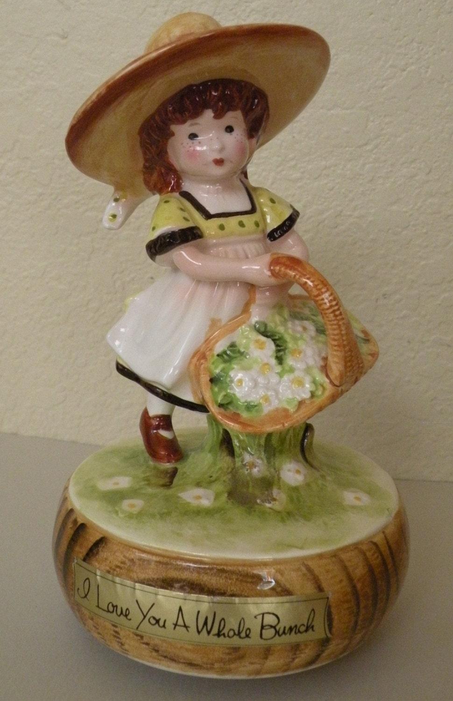Holly hobbie porcelain figurine music box description gorgeous holly hobbie porcelain reviewsmspy
