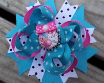 Shopkins Stacked Boutique Hair Bow