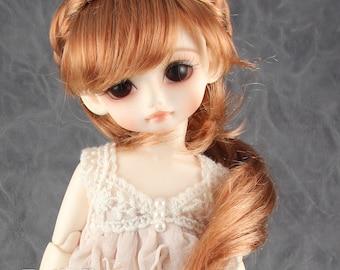 """Fatiao - New Dolls Wig Dollfie Yo-SD 1/6 BJD 6-7"""" size Carrot & Caramel"""
