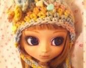 Pullip Blythe Crochet Helmet Hat