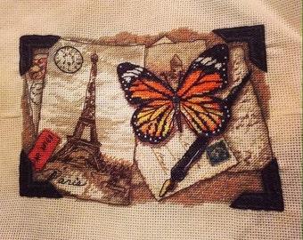 Finished cross stitch