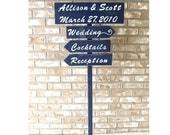 Wedding Signs custom wedding sign sign with a base directional sign outdoor wedding wood wedding sign reception sign reception decor
