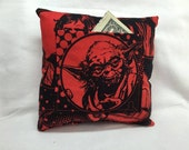 Tooth Fairy Pillow Star Wars Yoda Handmade LAST TWO!