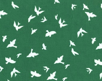 SALE - Michael Miller - Brambleberry Ridge by Violet Craft - Flight in Green