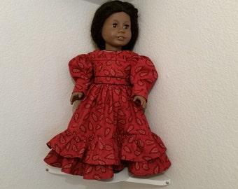 Regency Style Dress for 18 inch doll