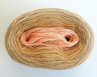 SANDPIPER --mega--  Color Changing Cotton yarn  865 yards/180 gr  Fingering Weight