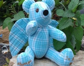 New! Angel Memory Bear made from clothing!
