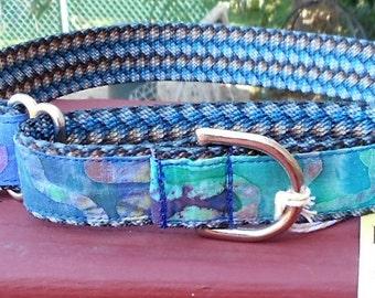 Martingale Batik Collar for a Large  Dog