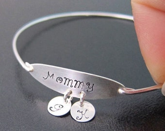 Personalized Mothers Day Gift, Mothers Day Jewelry, Personalized Gift for Moms Birthday from Daughter or Son, Birthday Gift for Mom