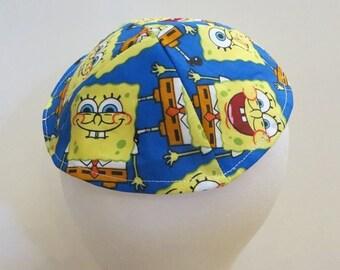 On Sale Sponge Bob Square Pants Kippah for Boy