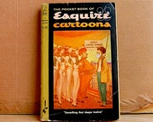 Vintage Esquire Cartoons Paperback MidCentury Collection 1959.