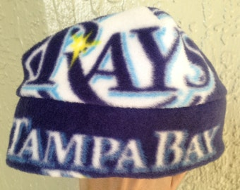 Tampa Bay Rays Fleece Hat- Great for Newborn Baby boys to adult men