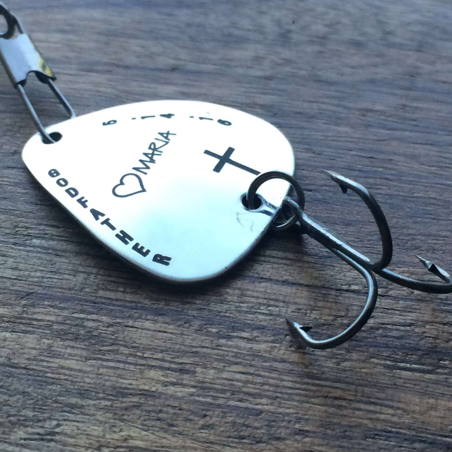 Godfather gift fishing lure gift personalized by for Personalized fishing lure
