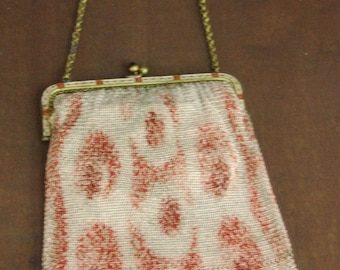 Vintage 1920s Art Deco /Down Town Abbey/Flapper Style Purse made in Germany