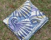 West African Wax Cotton Print Fabric - African Ankara Fabric - Shabiki