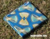 West African Wax Cotton Print Fabric - African Ankara Fabric - Bowties