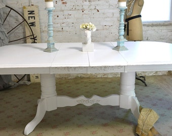 RESERVE LAURI Deposit for Painted Cottage Chic Shabby White French Dining Table TBL73