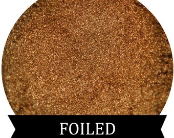 Metallic Gold Eyeshadow FOILED