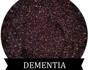 Dark Purple Mineral Eyeshadow DEMENTIA