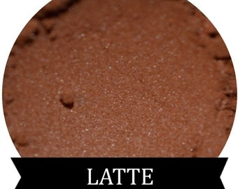 Frosty Brown Eyeshadow  LATTE mineral makeup