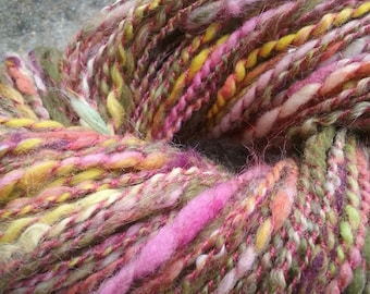 "Colorway ""Garden"" Handspun Worsted Weight Yarn"