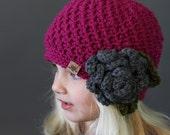 Crochet PATTERN Cumberland Beanie Crochet Hat Pattern