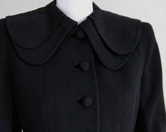 Not Your Basic Black, Gabardine Jacket- Sz S